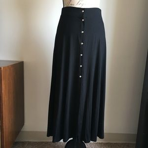 NWOT ASOS Midi Skirt with Button Detail - 8